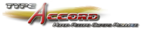 TypeAccord - Honda Resource